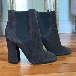 Dolce & Gabbana suede ankle booties